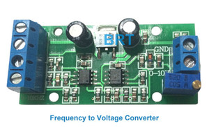Convertisseur de convertisseur F / V de convertisseur de signaux de fréquence à 0-5V 0-10V Conversion linéaire fréquence / tension avec capacité anti-parasitage