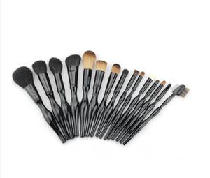 Yüksek Kalite Kadınlar 15 adet Makyaj Fırça Seti Araçları makyaj Tuvalet Seti Yün Makyaj Kozmetik Fırça Seti Araçları