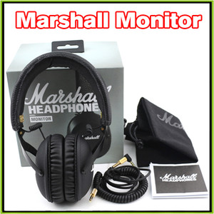 2016 New Marshall MONITOR 헤드폰 이어폰 형 헤드폰 w 마이크 HIFI 헤드셋 VS Marshall Major II Studio 2.0