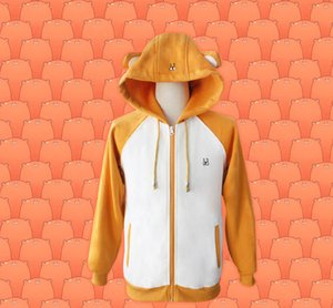 Himouto Umaru-chan Cosplay Pamuk Fermuar Hood Kapüşonlular Coat