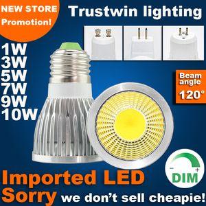 3 years warranty 110V 220V 12V edison bulb PAR16 MR11 E14 E27 E26 GU5.3 dimmable COB LED spotlight GU10 MR16