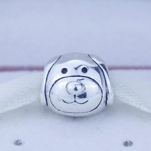Authentique 925 argent sterling perles argent Dédié Charm Charm Convient pour Pandora Bijoux Bracelets Collier Cadeaux De Noël ami 1pc / lot