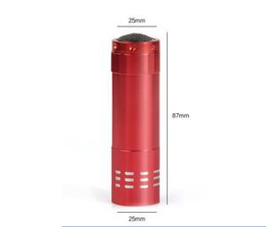 높은 품질 9LED 알루미늄 미니 휴대용 UV 울트라 바이올렛의 Blacklight 9 LED 손전등 토치 라이트 무료 배송