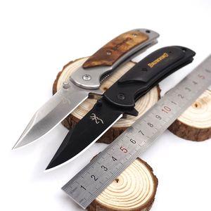 Piccola dimensione Brwoning Knife 338 Pieghevole Tattico Tattico Sopravvivenza Coltelli Da Combattimento Coltellino Svizzero Coltello Multiuso Coltello Da Campeggio Esterno Strumento EDC