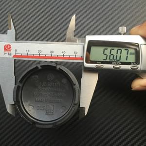 20 قطع 56 ملليمتر سيارة محور كاب غطاء شارة شعارات 1J0601171 مركز العجلة كاب ل vw logo 1J0 601 171 سيارة التصميم