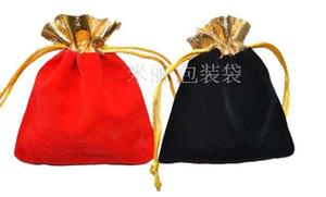 Sacchetti eleganti dei monili di trasporto libero veloci Borse squisite del regalo della flanella collana Anelli Braccialetti Borse 10x12mm