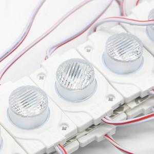 عالية الطاقة LED وحدة الإضاءة الجانبية 3030 SMD 1LEDS IP67 للماء LED وحدة مع عدسة عالية Brigtness لافتات الإعلان
