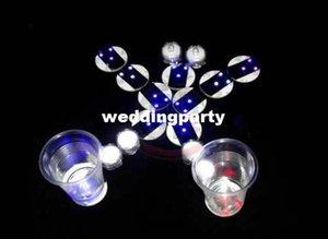 Бесплатная доставка мода свадьба украшение стола свет наклейка водить бутылка каботажной наклейка