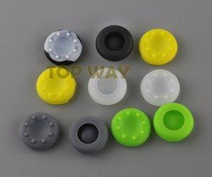 Multicolor Silicone Analog Controller Polegar Vara Apertos Tampas Capas para Xbox360 / Xbox One / PS3 / PS4 Controlador