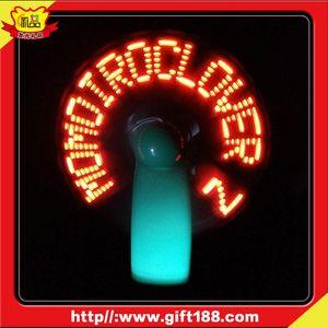 Fornisca la luce del LED che emette luce LED fan / ventilatore materiale trasparente del flash
