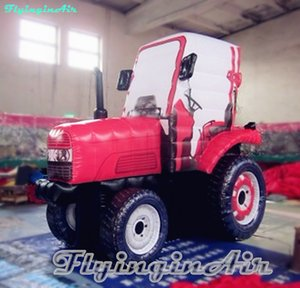 기계 광고를위한 3M 사용자 정의 인공 농장 기계 풍선 트랙터