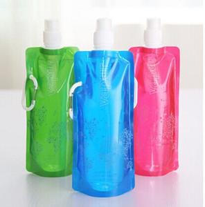 Boş 5 galon plastik bpa ücretsiz yetişkin çevre dostu şişeler çay / bardak çanta bisiklet mesane hidrasyon sırt çantası bisiklet kap su
