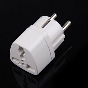 Universal AU UK US to EU AC Power Socket Plug Travel Charger Adapter Converter
