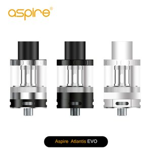 Clearence-Aspire Atlantis EVO Tank Standard 2ml And Extended 4ml atomizer 100% Original e cigarettes vape tank best price vapor