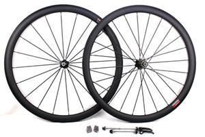 ruote per biciclette in carbonio 38mm copertoncino tubolare bici da strada per bicicletta wheelset basalto superficie freno