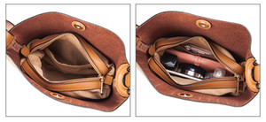 Shoulder Crossbody Bag For Women Messenger Solid Genuine Woman Bucket Leather Real High Hasp Quality Bags Bag Giqbg