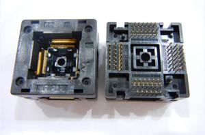 Enplas QFP80PIN IC TEST SOCKET OTQ-80-0.5-05 SOKETTA 0.5 MM PITCH YANMASI