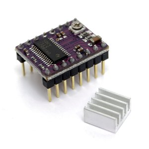 StepStick DRV 8825 DRV8825 스테퍼 모터 드라이버 용 Freeshipping 3D 프린터 RepRap RAMPS1.4 용 모듈 캐리어 방열판 포함