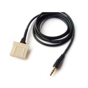 No Carro Mídia MP3 Player Interface de Adaptador 3.5mm AUX Cabo de Áudio CD Changer Cabo para Mazda 2 3 5 6 MX5 RX8 2006 +