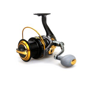 2016 Nouvelle Grande Taille Surf Casting Moulinet Long Shot Roue Distant Roues Spinning Mer Pêche 13 Portant 8000/9000