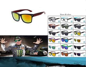 2017 mode sonnenbrillen, helle reflektierende gläser, mode sport sonnenbrille, 18 farben optional hochwertige sonnenbrille großhandel