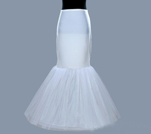 Whole Sale In Stock Plus Size One 1 Hoop Petticoat Slip Crinoline For Mermaid Wedding Dresses Underskirt Women