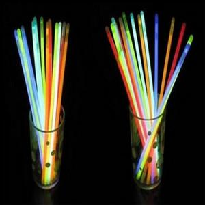 LED Light Up мигающего палочки браслет многоцветного освещение мерцает Glow партия украшения светодиодных палок браслетов водить малыш игрушки браслетов