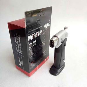 AOMAI Metall Dual flamme Spray Einstellbare Flamme Butangas Jet Zigarette Schweißbrenner Feuerzeug Mit Geschenkbox Feuerzeuge Küche Werkzeug Zubehör