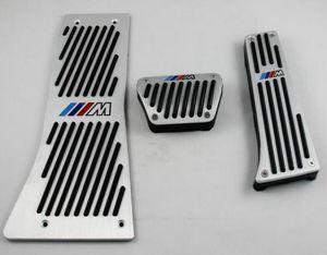 Spor Yakıt Fren Footrest Pedalı Seti BMW X5 E53 Için 2000-2006 LHD 'de