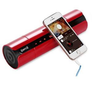 KR8800 tragbare mini bluetooth lautsprecher glatte drahtlose super bass lautsprecher mit lcd-bildschirm fm radio tf karte soundbox für telefon