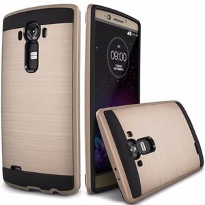 100 шт./лот броня двойной слой гибридный жесткий TPU + PC чехол для телефона LG K7 LS775 K10 G5 задняя крышка