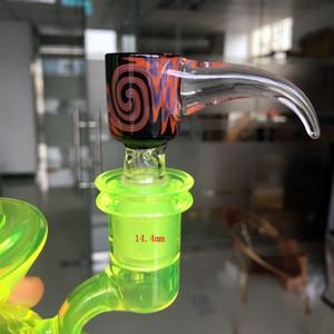 Glasschüssel-Plättchen für Glasbongpfeifen mit weiblichem Gelenk 14mm 18mm Schüsseln für Glaswasser Bongs
