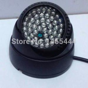 Novo Indoor IR Infravermelho Iluminador 940nm Wavelength IR LEDs 48 pcs Tipo Dome CCTV IR Iluminador Lâmpada, frete Grátis