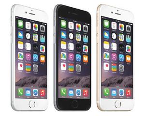 """Remodelado iPhone 6 Celular 16GB 64GB 100% Original Apple iPhone 6 sem impressão digital sem função Touch ID 4.7 """"Smartphone"""