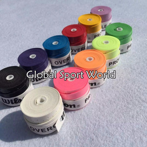 Wholesale-High Quality Branded Tennis Racket Overgrips Wearable Tenis Overgrip Abrasive Racquets Hand Glue Badminton Thin Type Over grip