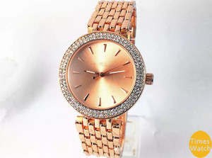 M marchio di lusso Donna Uomo oro diamante da polso Relojes in acciaio inox rolse oro moda orologio da uomo in oro di trasporto libero orologi da polso