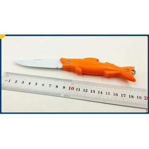 Directo de fábrica de 3 estilo Ghillie EDC de bolsillo plegable de la lámina cuchillos de la fruta cuchillo de pescado de tipo ABS maneja el cuchillo de bolsillo mini cuchillos de la supervivencia cuchillo de regalo