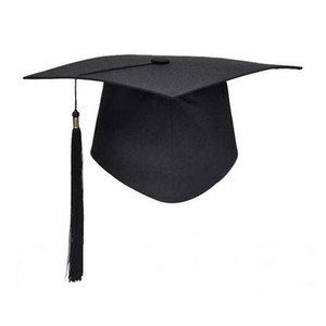 NEW High Quality Adult Bachelor Graduation Caps With Tassels For Graduation Ceremony Party Supplies