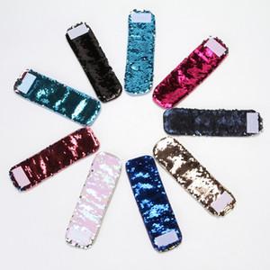 패션 인어 공주 스팽글 손목 밴드 수제 멀티 컬러 팔찌 인격 참신 디자인 손목 스트랩 공장 직접 판매 7 35pr B