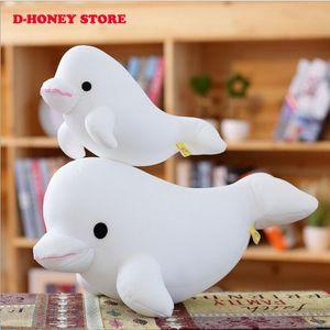 Nuevo 30 cm de alta calidad de los delfines muñecos de peluche muñecos de peluche delfines muñecas amantes de los juguetes actuales para los niños Envío gratis
