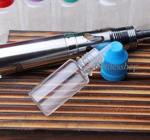 Veloce consegna 10ml bottiglia di plastica contagocce PET Eye Drop bottiglia vuota 10 ml con tappo a prova di bambino e punta lunga per bottiglie di liquido E