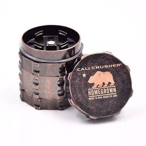 Cali Crusher Grinder für das Rauchen Aircraft Aluminium Herb Grinder 4 Schichten bieten beste Note und Textur VS Lighting Grinder kostenloser Versand