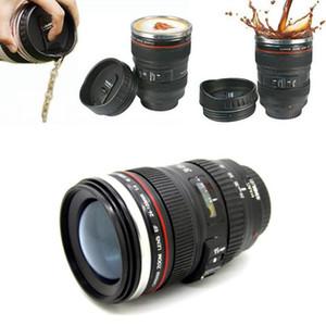 Camera Lens tazza di caffè bottiglie di tè 400 ml Tazza di Viaggio Thermos In Acciaio Inox lente REFLEX tazze di caffè 60 PZ IB249