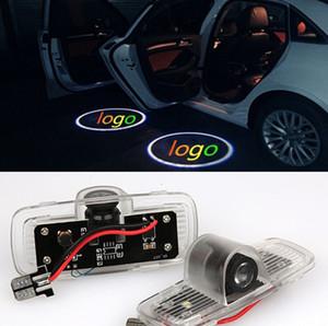 2 adet / grup araba LED projektör logo ışıkları kapı Hayalet gölge honda Accord 2003-2013 Accord Crosstour 2010-2015 için hoşgeldiniz ışık