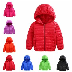 Hot winter boys girls jacket snow treasure cartoon coat cotton-padded clothes cotton-padded clothes children's coat Kid light down jacket