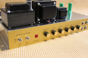 Custom Plexi1959 Hand Wired All Tube Electric Guitar Amplifier Chassis with KT66 Tube Musical Instruments Point to Point Amp Free Shipping