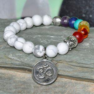 Sabır Mala bilezik, Buda Bilezik, Hovlit Taş, bilek mala, 7 Chakra bilezik, Lotus çiçeği Bilezik, OM yoga bilezik, mala namaz