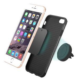 360-Grad-Drehung Magnetic Auto-Telefon Hodler Lüftungsschacht Mount Mobiltelefon-Auto-Halter für Smartphone Mini Tablets