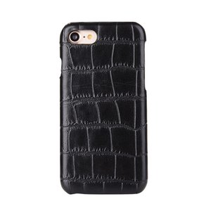 100pcs Hot Selling Fashion Carbon Fiber Wood Crocodile Snake Leather Hard PC Case for iphone 7 for samsung s7 Mobile Phone Case