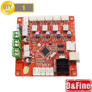 Freeshipping 3D Printer Control carte mère pour V1.0 Printer Control Reprap Mendel Prusa